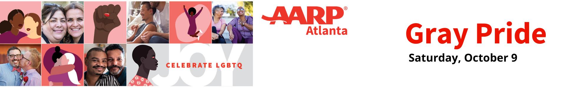AARP Atlanta Presents: A Virtual Gray Pride Experience
