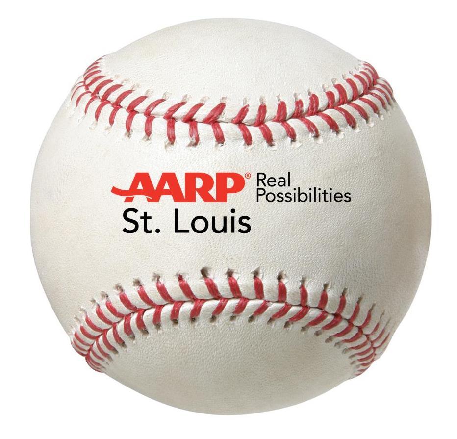 baseball with logo