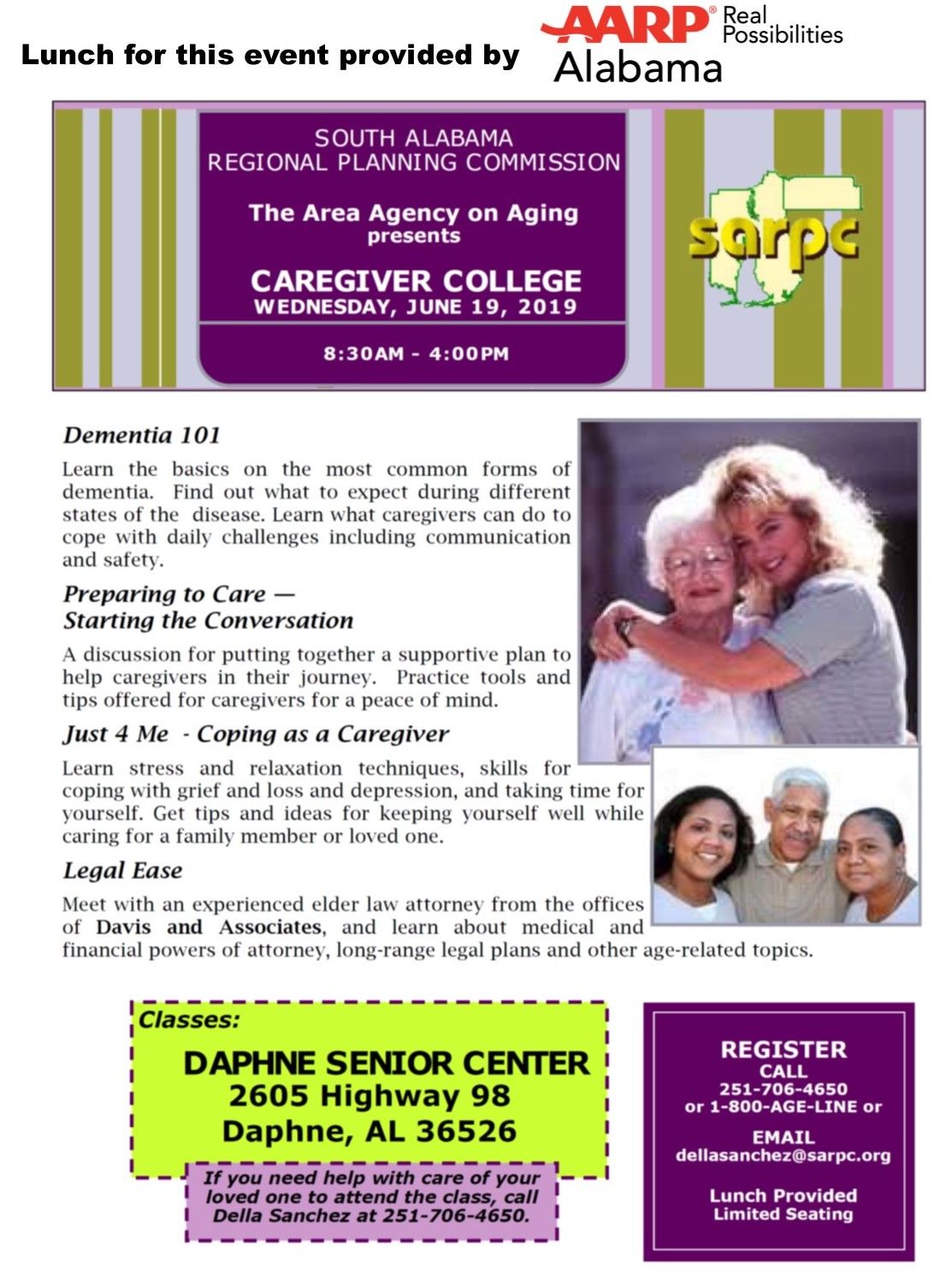 June 19 Caregiver College 2