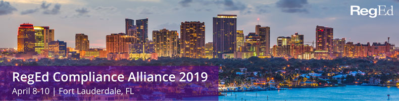 RegEd Compliance Alliance 2019