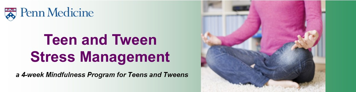 Teen and Tween Stress Management Course