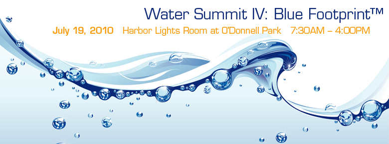 Water Summit IV: Blue Footprint™