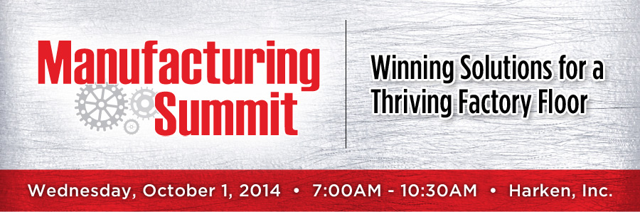 2014 Manufacturing Summit