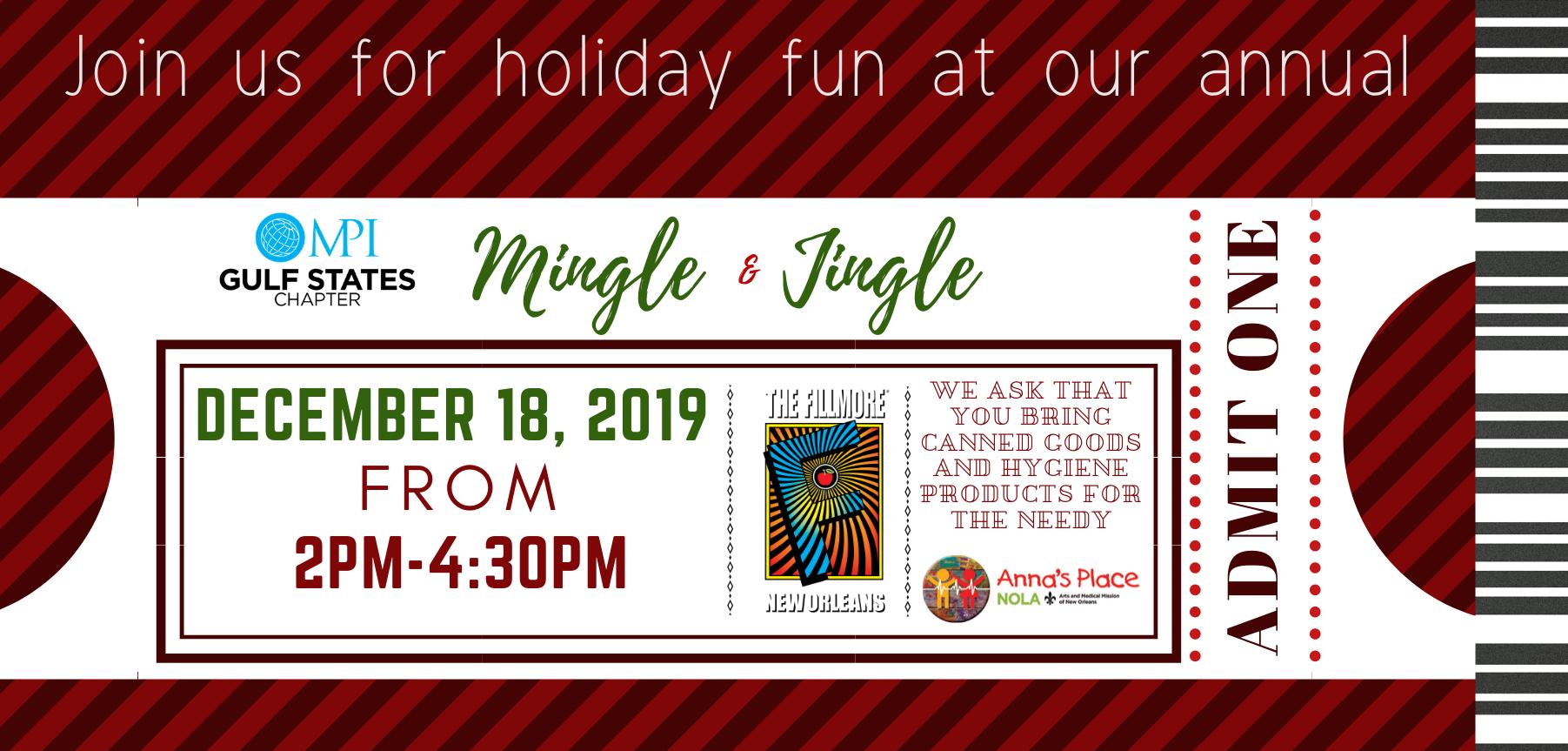 December Holiday Mingle Invite