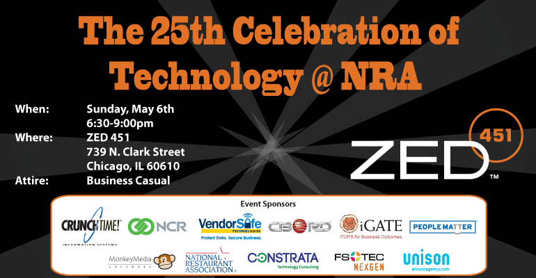 Celebration of Technology @ NRA