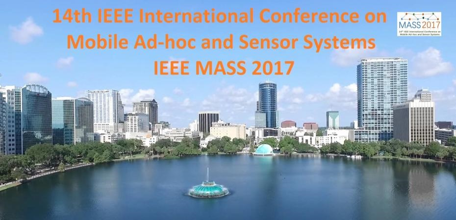 2017 IEEE 14th International Conference on Mobile Ad Hoc and Sensor Systems (MASS)