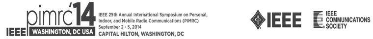 2014 IEEE PIMRC