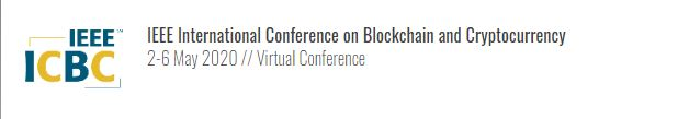 2020 IEEE International Conference on Blockchain and Cryptocurrency (ICBC)