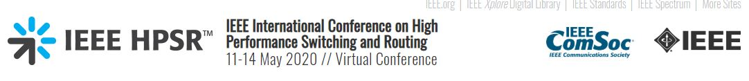 2020 IEEE 20th International Conference on High Performance Switching and Routing (HPSR)