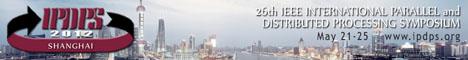 2012 IEEE IPDPS banner