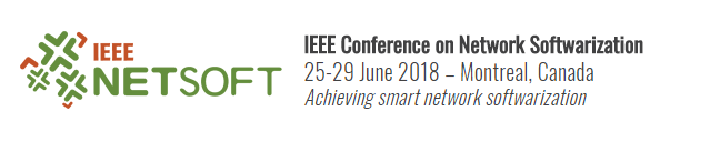 2018 4th IEEE Conference on Network Softwarization and Workshops (NetSoft)