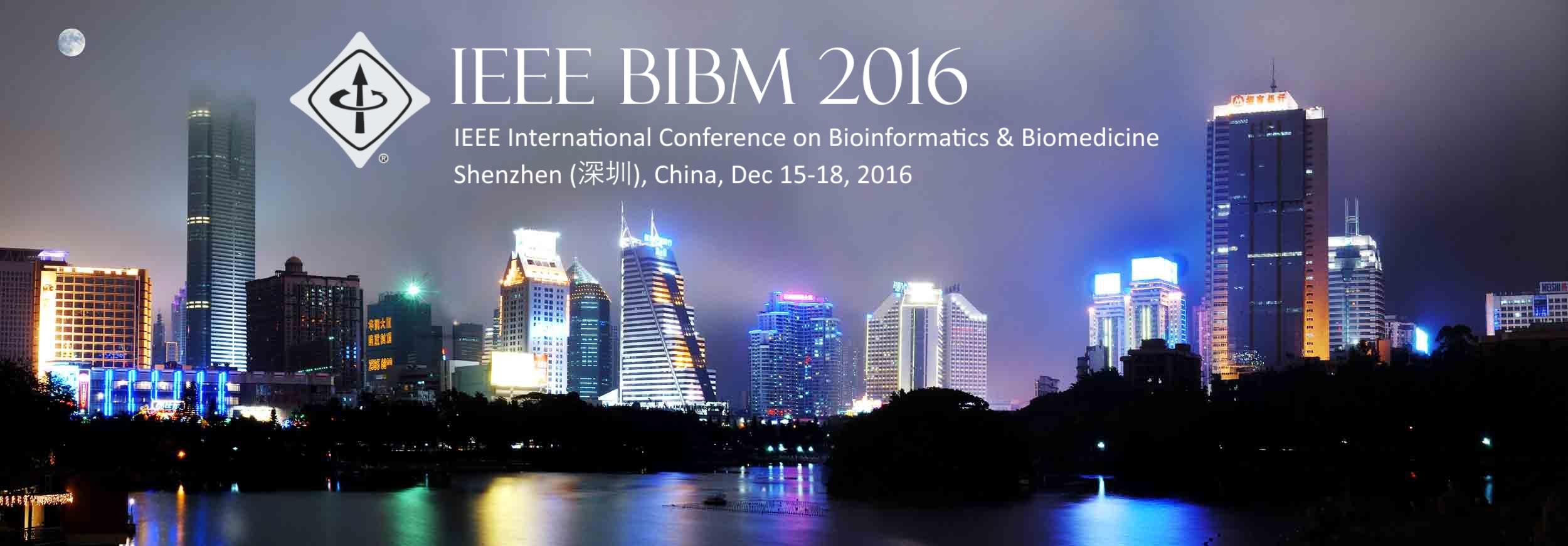 IEEE BIBM 2016