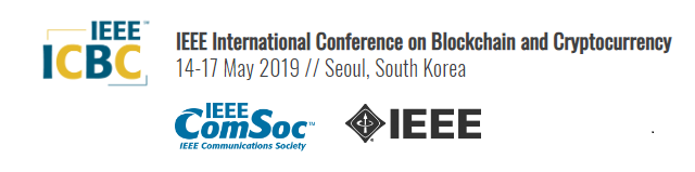 2019 IEEE International Conference on Blockchain and Cryptocurrency (ICBC)
