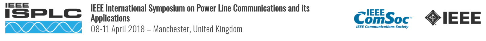 2018 IEEE International Symposium on Power Line Communications and its Applications