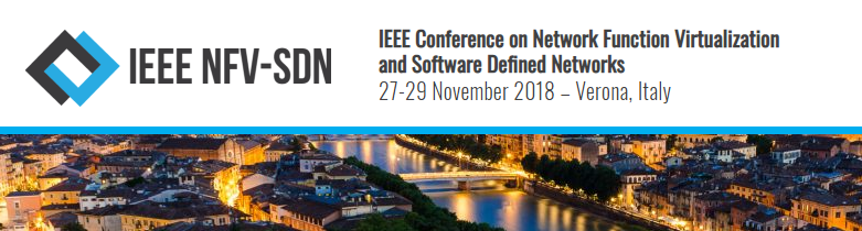2018 IEEE Conference on Network Function Virtualization and Software Defined Networks (NFV-SDN)