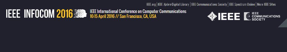 2016 IEEE INFOCOM