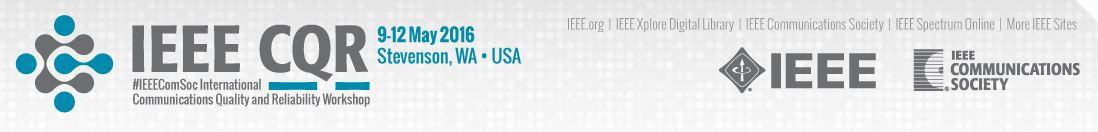 2016 IEEE CQR