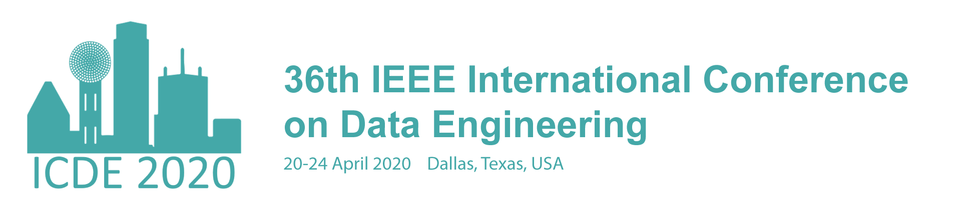 2020 IEEE 36th International Conference on Data Engineering (ICDE)