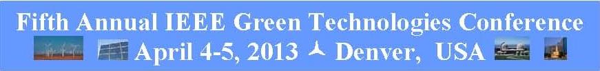 2013 IEEE GreenTech