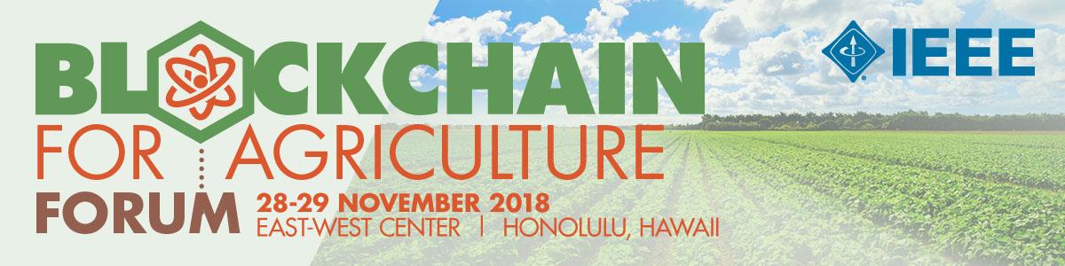 Blockchain for Agriculture Forum