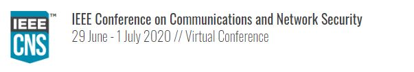 2020 IEEE Conference on Communications and Network Security (CNS)