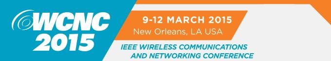 2015 IEEE WCNC