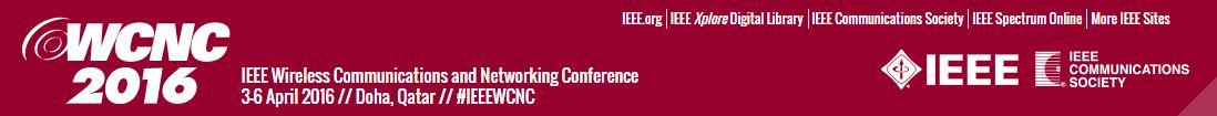 2016 IEEE WCNC
