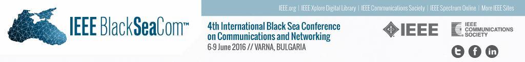 2016 IEEE BlackSeaCom