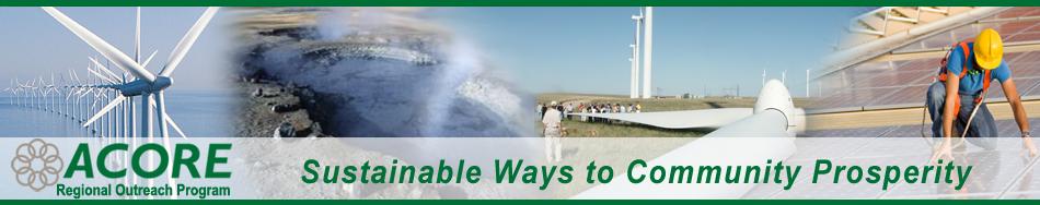 Sustainable Ways to Community Prosperity