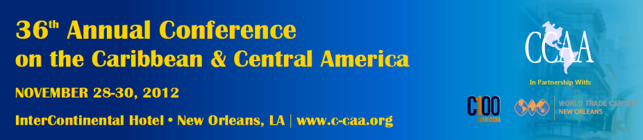 36th Annual Conference on the Caribbean & Central America