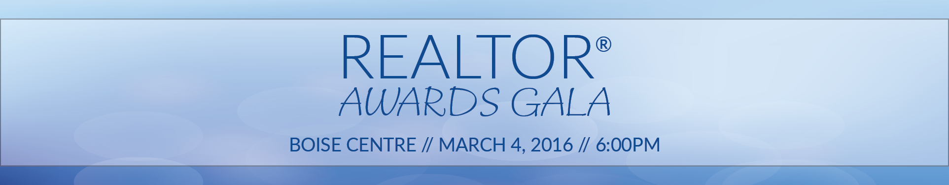 REALTOR® Awards Gala