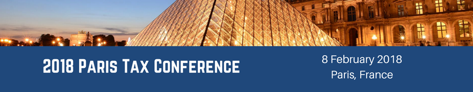 2018 Paris Tax Conference