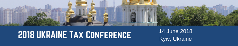 2018 Ukraine Tax Conference