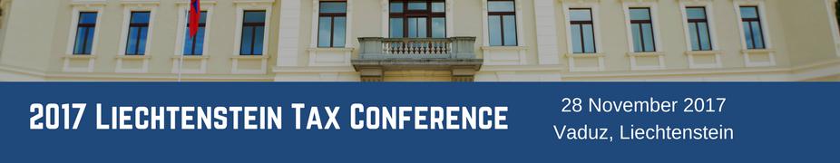 2017 Liechtenstein Tax Conference