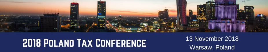 2018 Poland Tax Conference
