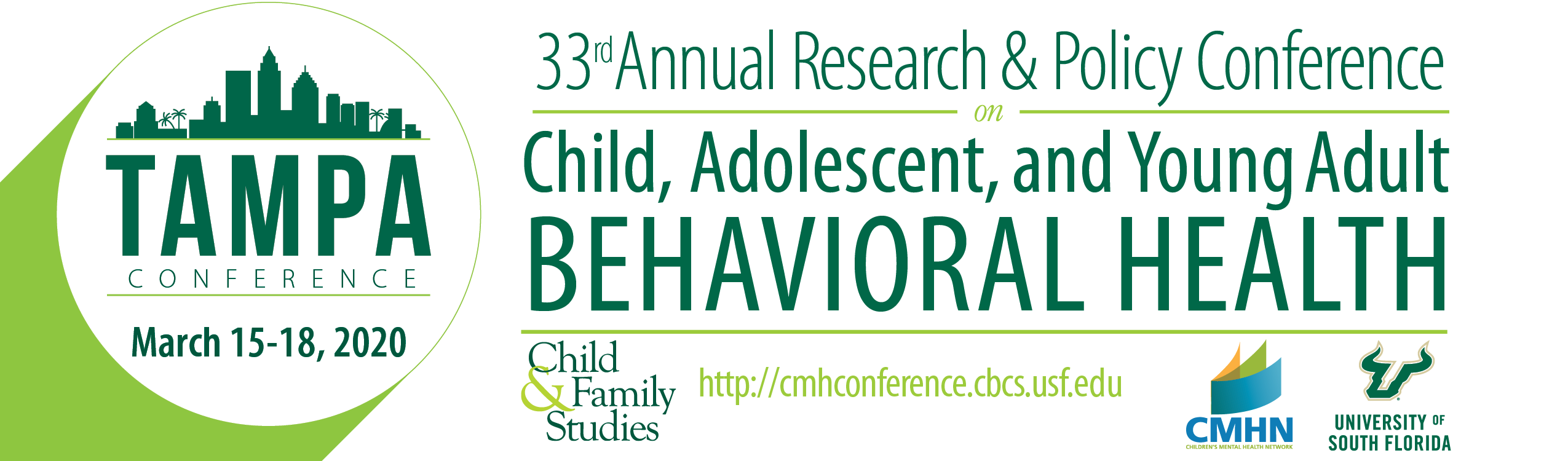 33rd Annual Research & Policy Conference on Child, Adolescent, and Young Adult Behavioral Health