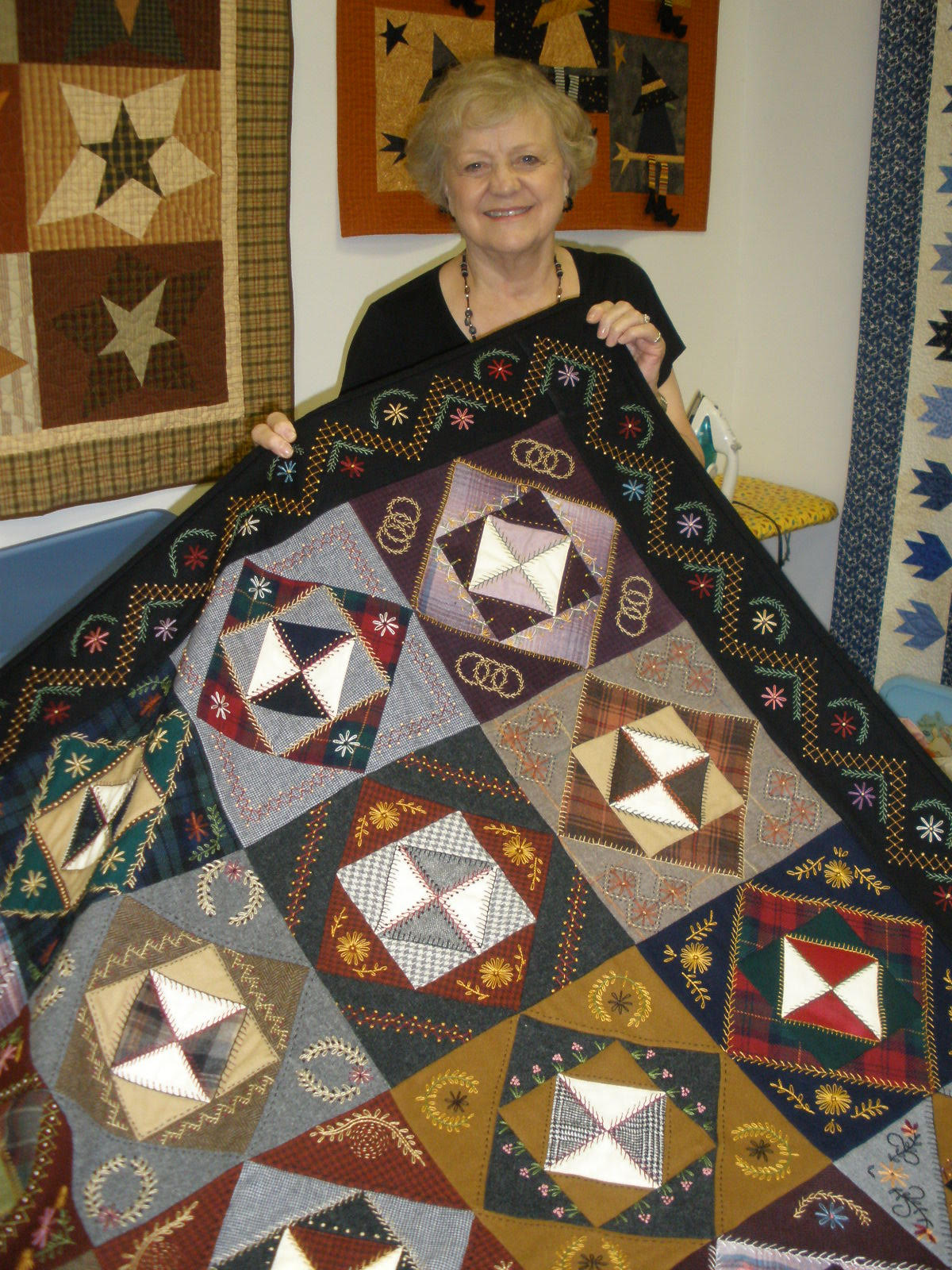 2018 Quilter of the Year Mary Chalmers