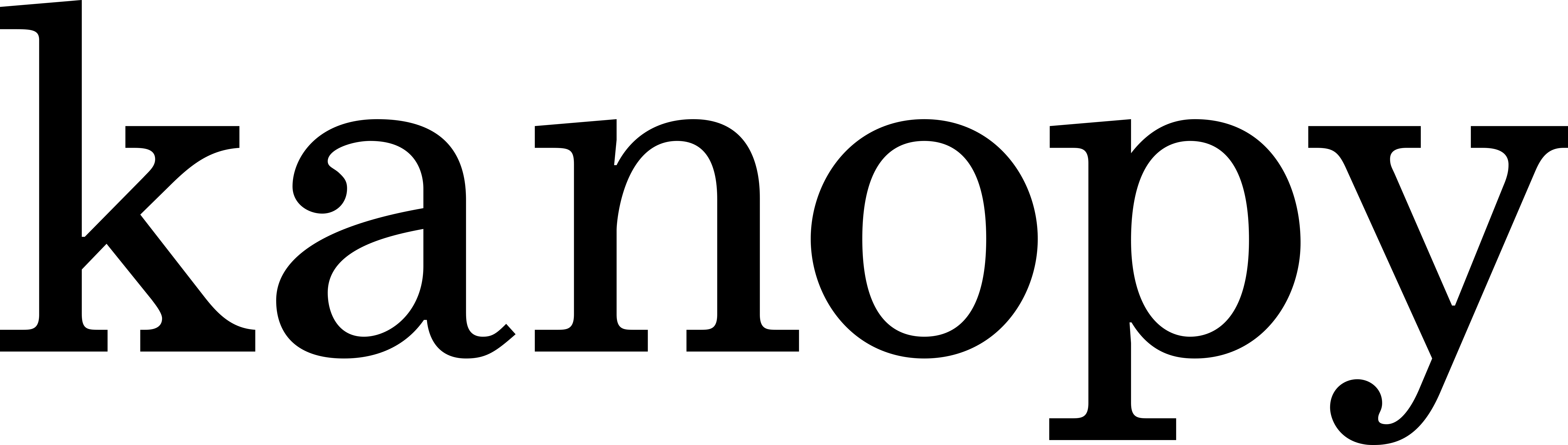 kanopy logo black