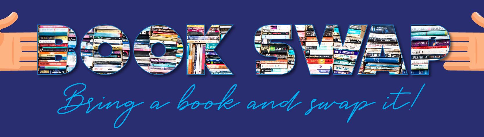 Book swap banner