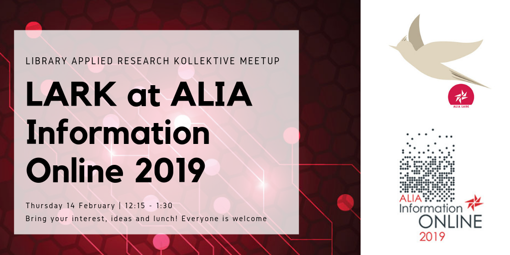 LARK at ALIA Info Online 2019