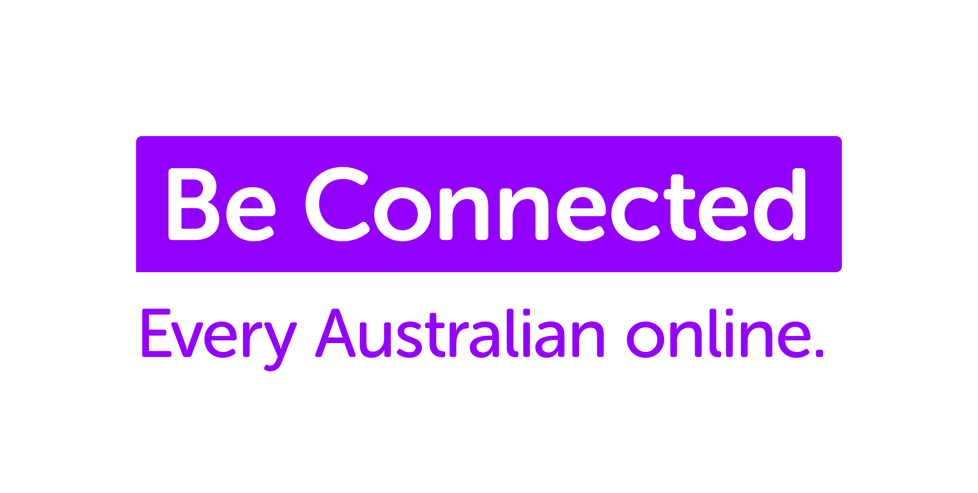 Be Connected logo wTag_Colour