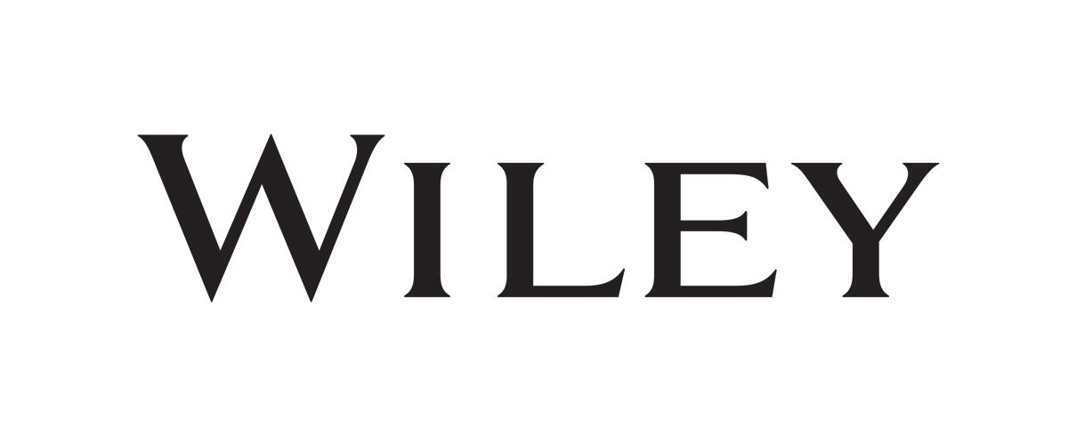 Black Wiley text logo