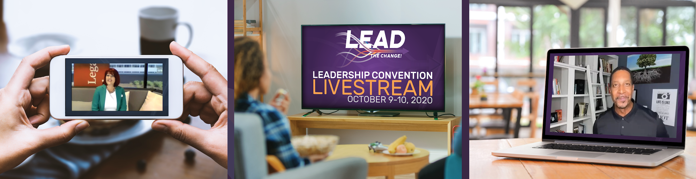 """""""Lead the Change"""" Leadership Convention Livestream 2020"""