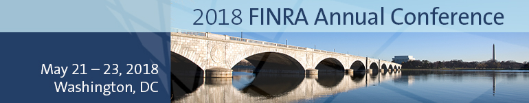 2018 FINRA Annual Conference