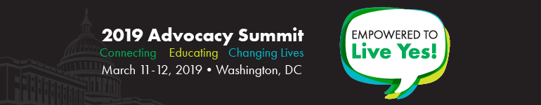2019 Advocacy Summit  Empowered to Live Yes!