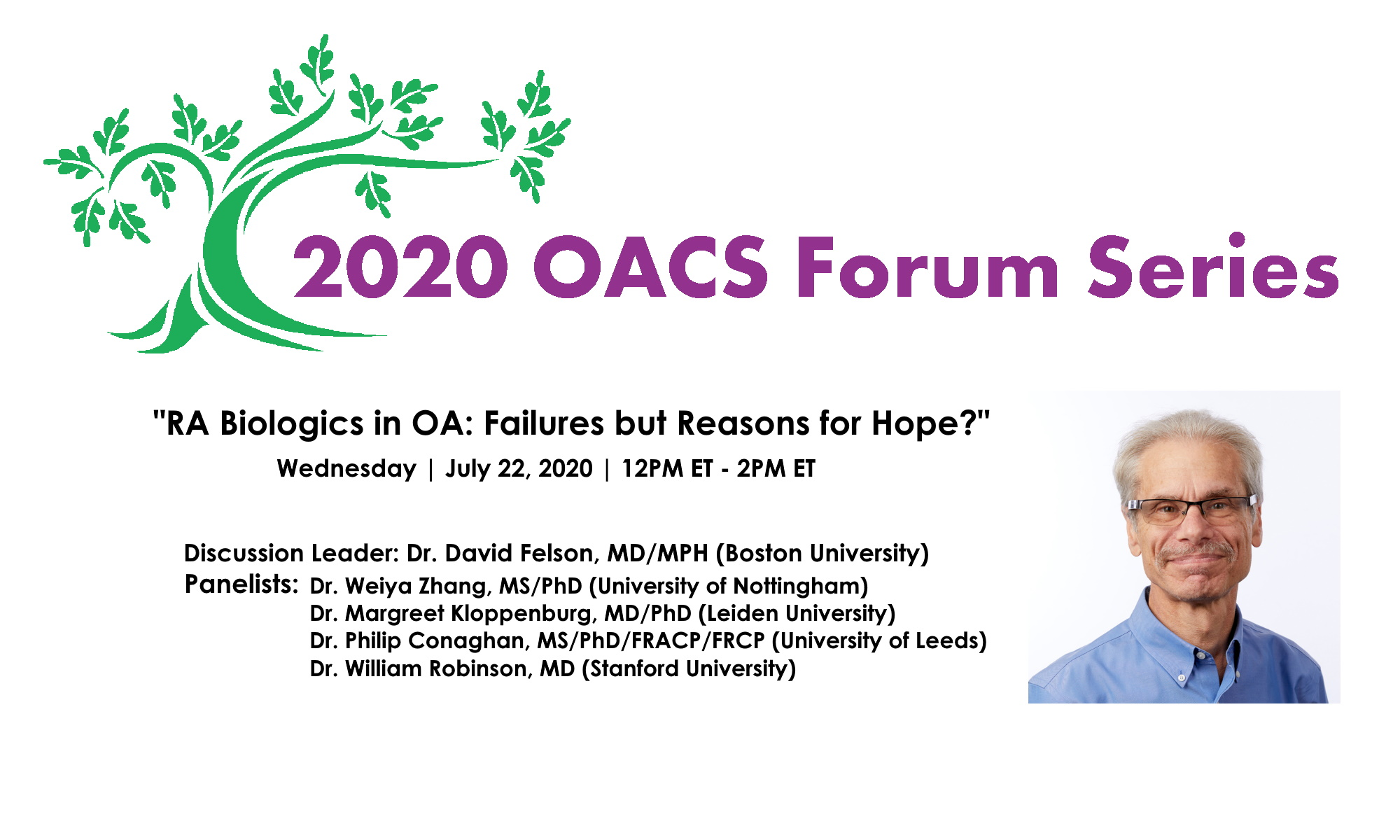 """""""RA BIOLOGICS IN OA: FAILURES BUT REASONS FOR HOPE?"""""""