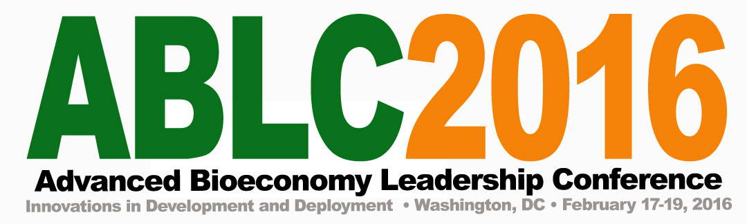 Advanced Bioeconomy Leadership ABLC2016 Conference