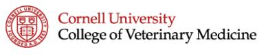 Cornell University Vet Logo