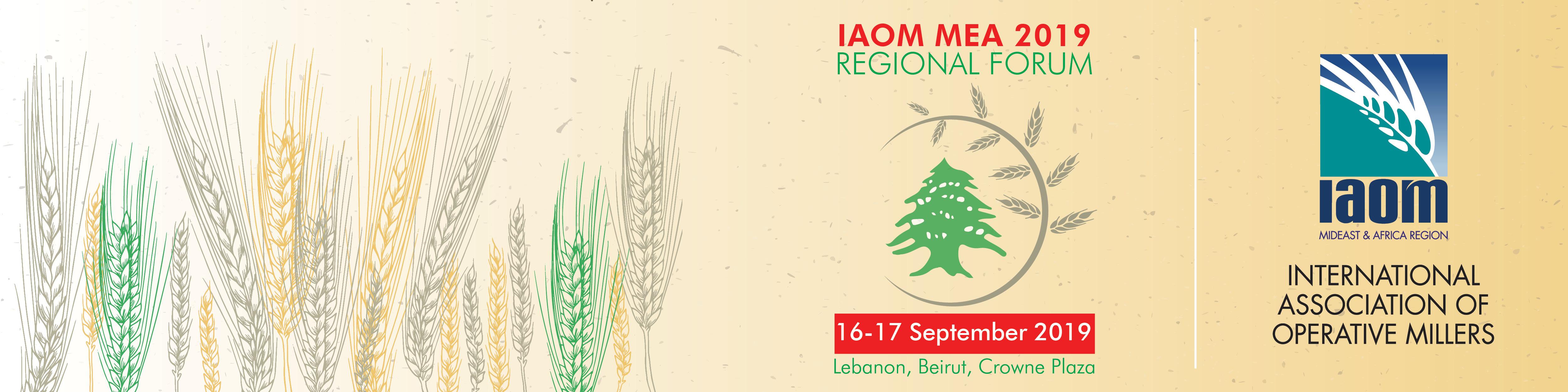 IAOM MEA 2019 Regional Forum - Lebanon