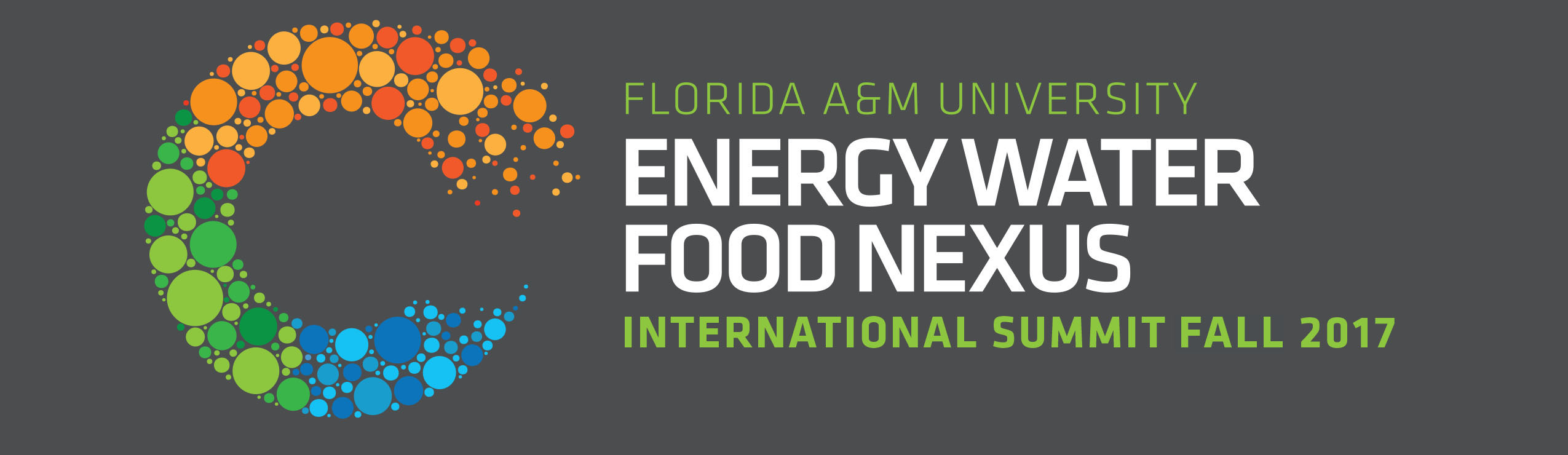 EnergyWaterFoodNexus International Summit Fall 2017